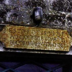 Inscription biblique (Charente-Maritime)