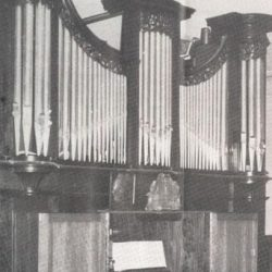 Orgue de Gunsbach à l'initiative et selon les plans d'Albert Schweitzer