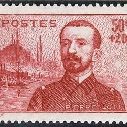 Timbre représentant Pierre Loti