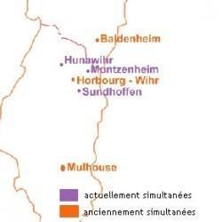 Cartes d'Eglises de Simultaneum
