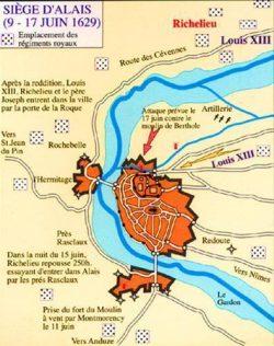 Fin des hostilités : la Paix d'Alès (1629)