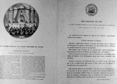 Synode de l'Église réformée de France (juillet 1872)