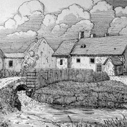 Maison de Calvin à Enfer près Wy (Seine et Oise)