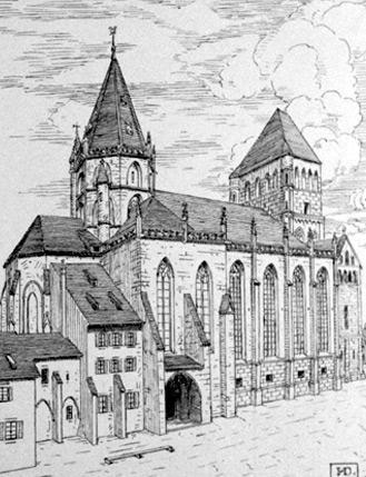 Strasbourg, Église Saint-Thomas