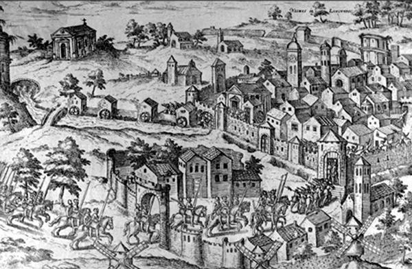 Nîmes en 1567
