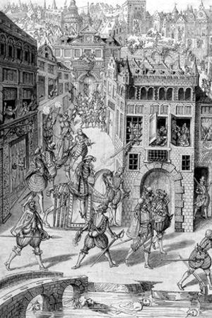 Saint-Barthélemy-24 août 1572