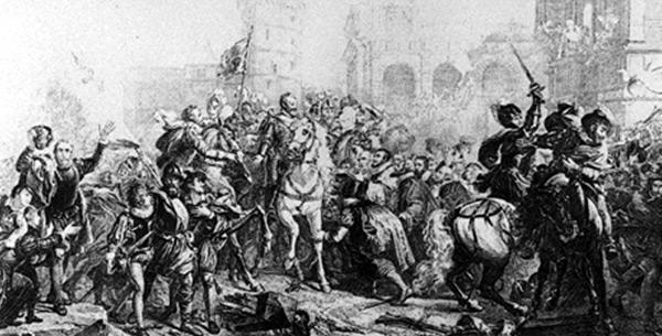 Entrée d'Henri IV à Paris (mars 1594)