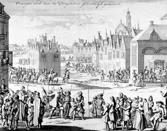 Dragonnade à Orange (1685)