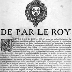 Condamnation aux galères signée par Louis Le Tellier