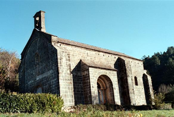 Temple de la Boissonnade à Sainte-Croix-Vallée-Française (Lozère)