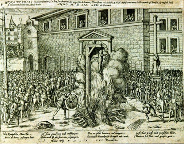 Mort d'Anne du Bourg (1559)