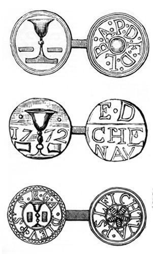 Méreaux utilisés dans les Deux-Sèvres et dans la Vienne (XVIII<sup>e</sup>)