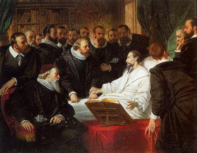 Les adieux de Calvin aux syndics de Genève