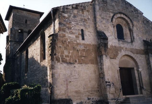 Partie protestante du temple de Beaumont-lès-Valence (Drôme)
