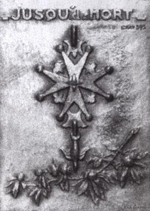 Croix huguenote au Fort de Ste Marguerite