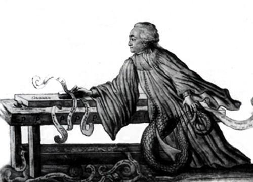 « Les coups de rabot », caricature de Rabaut Saint-Étienne