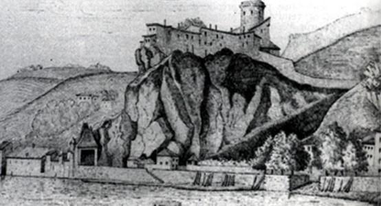 Château de Pierre-Encize : prison pour les protestants fugitifs