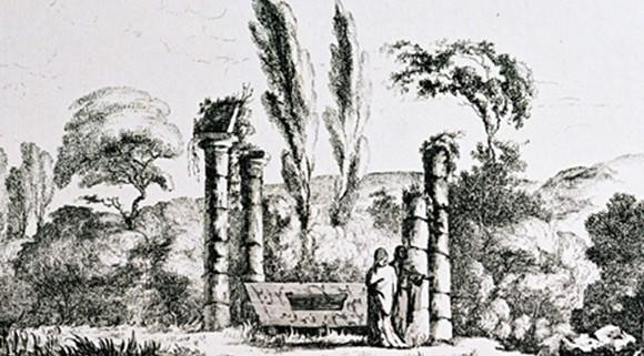 Tombeau de Court de Gébelin (XVIII<sup>e</sup> siècle)