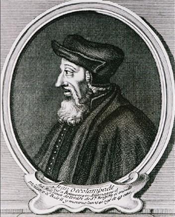 Jean Œcolampade (1482-1531)