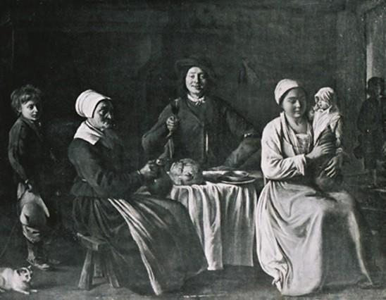 Le Nain (1593-1648) « Retour du baptème »