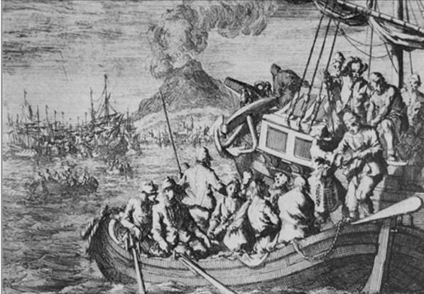 Ministres hongrois envoyés aux galères en 1674