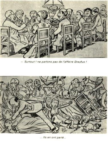 L'Affaire Dreyfus par Caran d'Ache