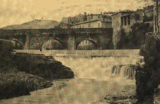 Privas, pont Louis XIII (Ardèche)