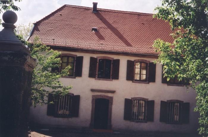 Maison du pasteur Oberlin à Waldersbach