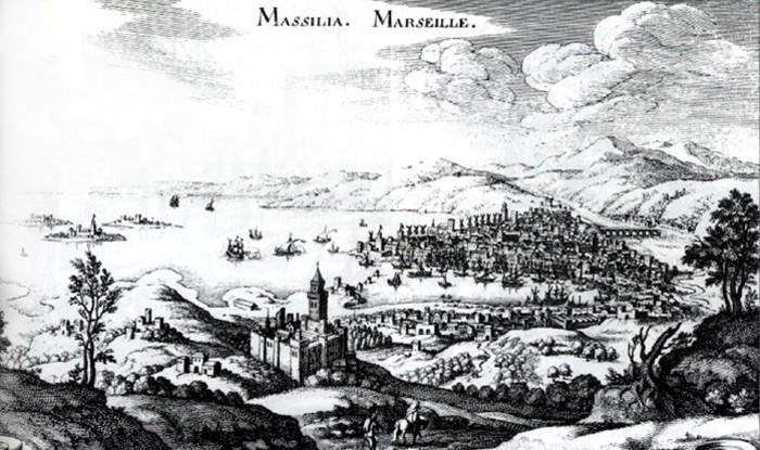 Vue de Marseille par Tassin