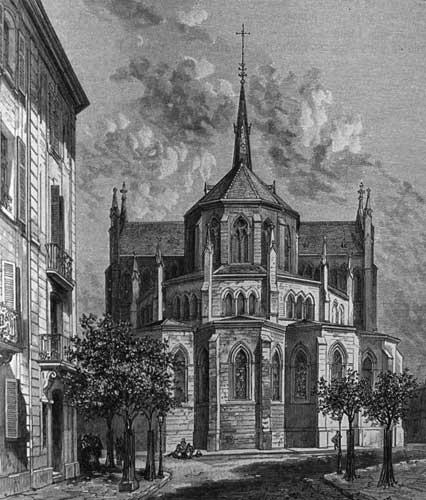 Mulhouse, Église Saint Étienne (67)