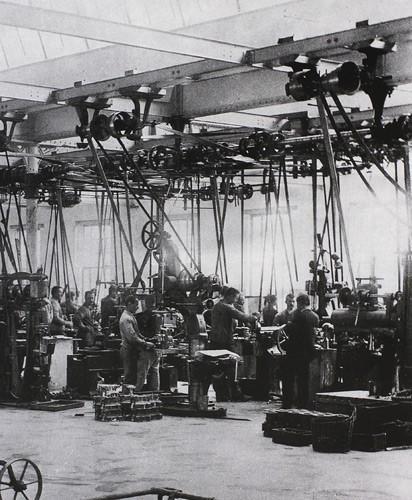 Atelier de montage de pièces de moteur Peugeot, Audincourt