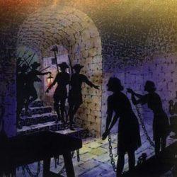 Prisonniers dans la maison de Pont-de-Monvert, Samuel Bastide
