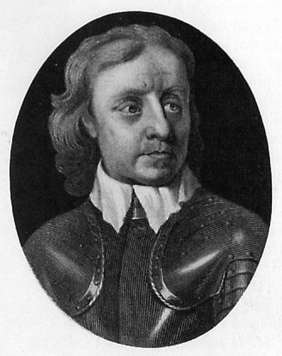 Olivier Cromwell (1599-1658) Lord Protecteur en Angleterre, puritain