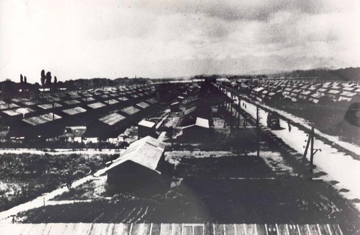 Camp de Gurs, où furent internés 12 000 juifs