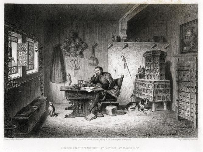 Luther (gravure de Blanchard d'après Labouchère)