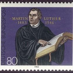 Briefmarke: Martin Luther
