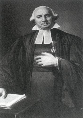 Paul-Henri Marron, premier pasteur de l'Église Réformée de Paris