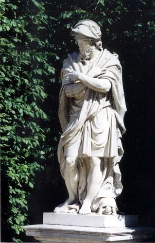 Lespagnandelle, le Flegmatique, parc du château de Versailles