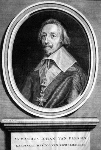 Cardinal de Richelieu (Armand du Plessis, 1585-1642)