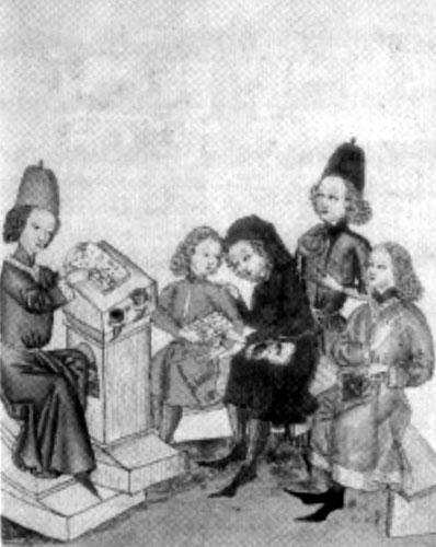 L'école au Moyen âge
