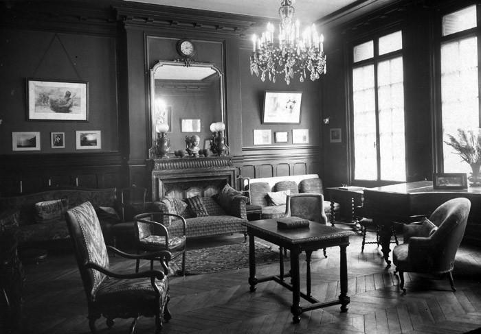 UCJF, salon du 22 rue de Naples, Paris