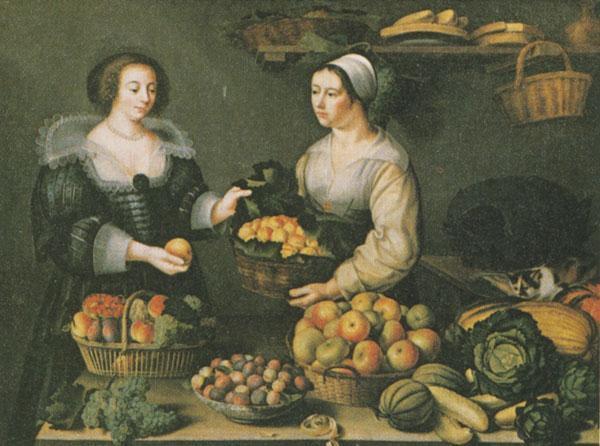 Louise Moillon, La marchande de fruits et de légumes
