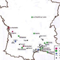 Les places de sûreté protestantes avant 1598