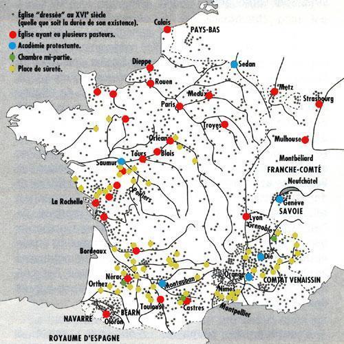 Le protestantisme au temps de l'édit de Nantes