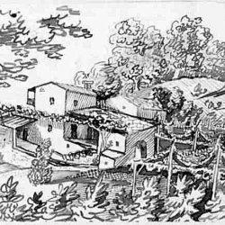 Maisons dans les vallées vaudoises