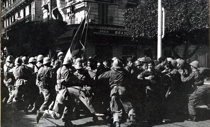 Alger, les débuts de la guerre d'Algérie
