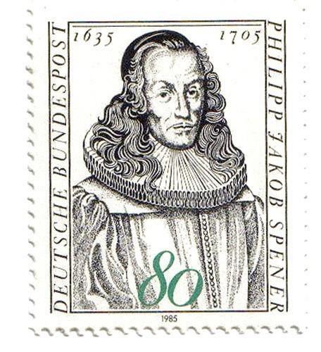 Philip Jacob Spener (1635-1705), timbre