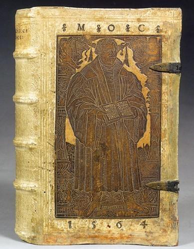 Martin Luther en couverture de Melanchthon Philipp, Loci praecipui theologici... (1559)