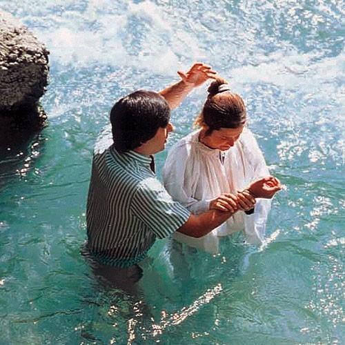 Baptême par immersion