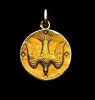Médaillon représentant le Saint Esprit